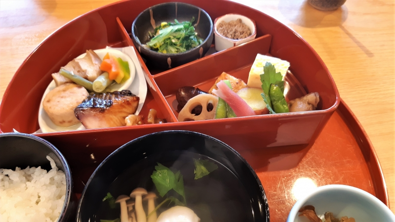 Kaiseki lunch box in Kamakura