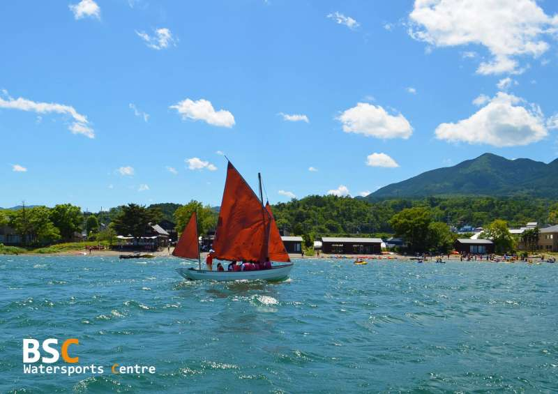 BSC Water Sports Center from the Lake BIwa