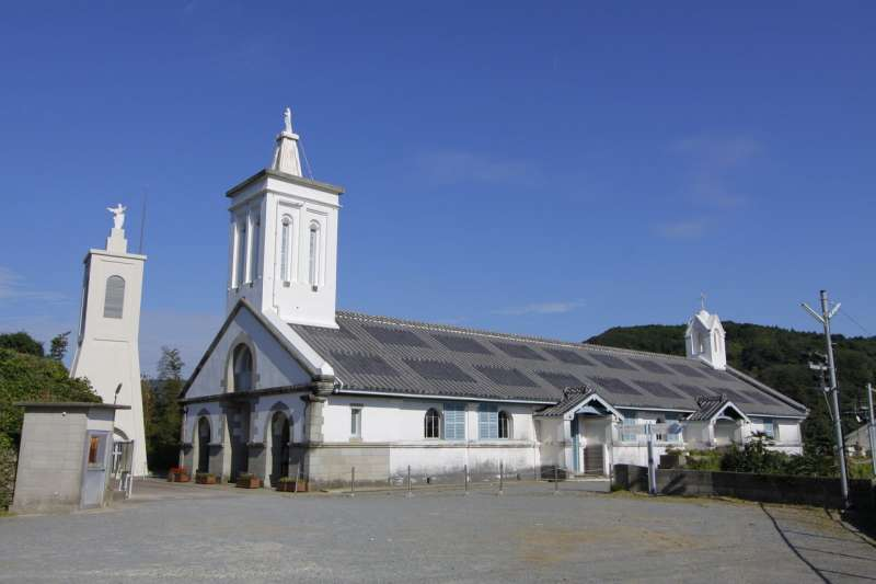 ★SHITSU Church (World Heritage: Hidden Christian) ・Nagasaki city Built by Marc Marie de Rotz in 1882, completed present building in 1909, Important Cultural Heritage of Japan
