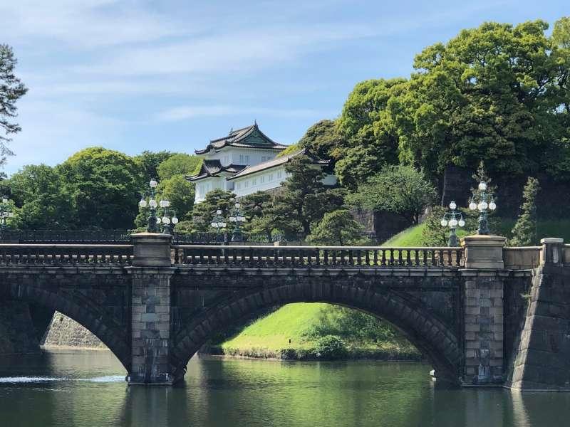 Imperial Palace Double bridge.