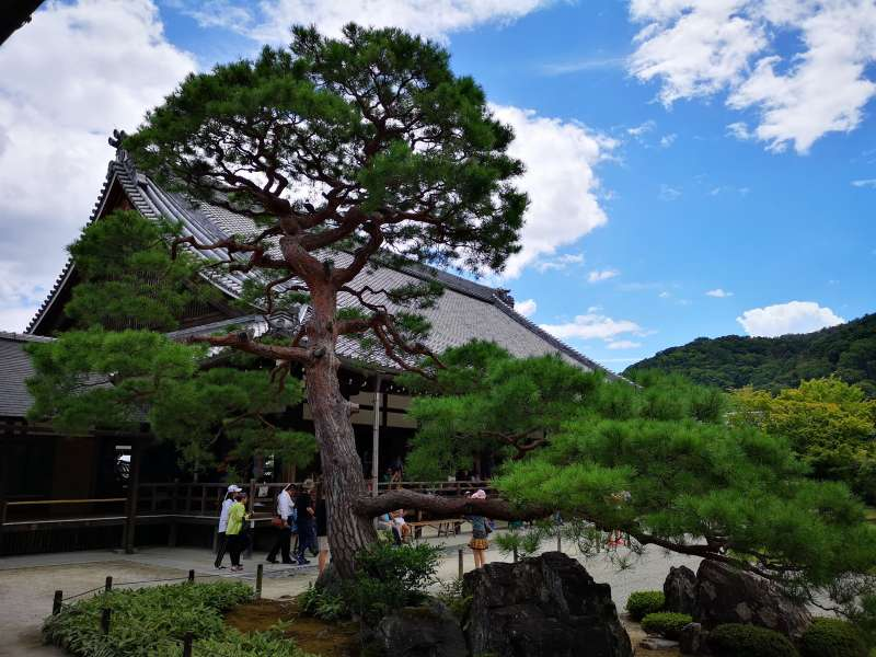 TENRYUJI is the first-ranked of the Five Great Zen Temples of Kyoto.