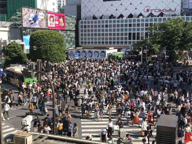 Shibuya 'Scramble' Crossing
