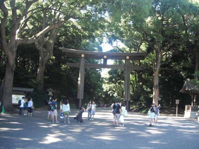 Meiji 'Jingu' Shrine