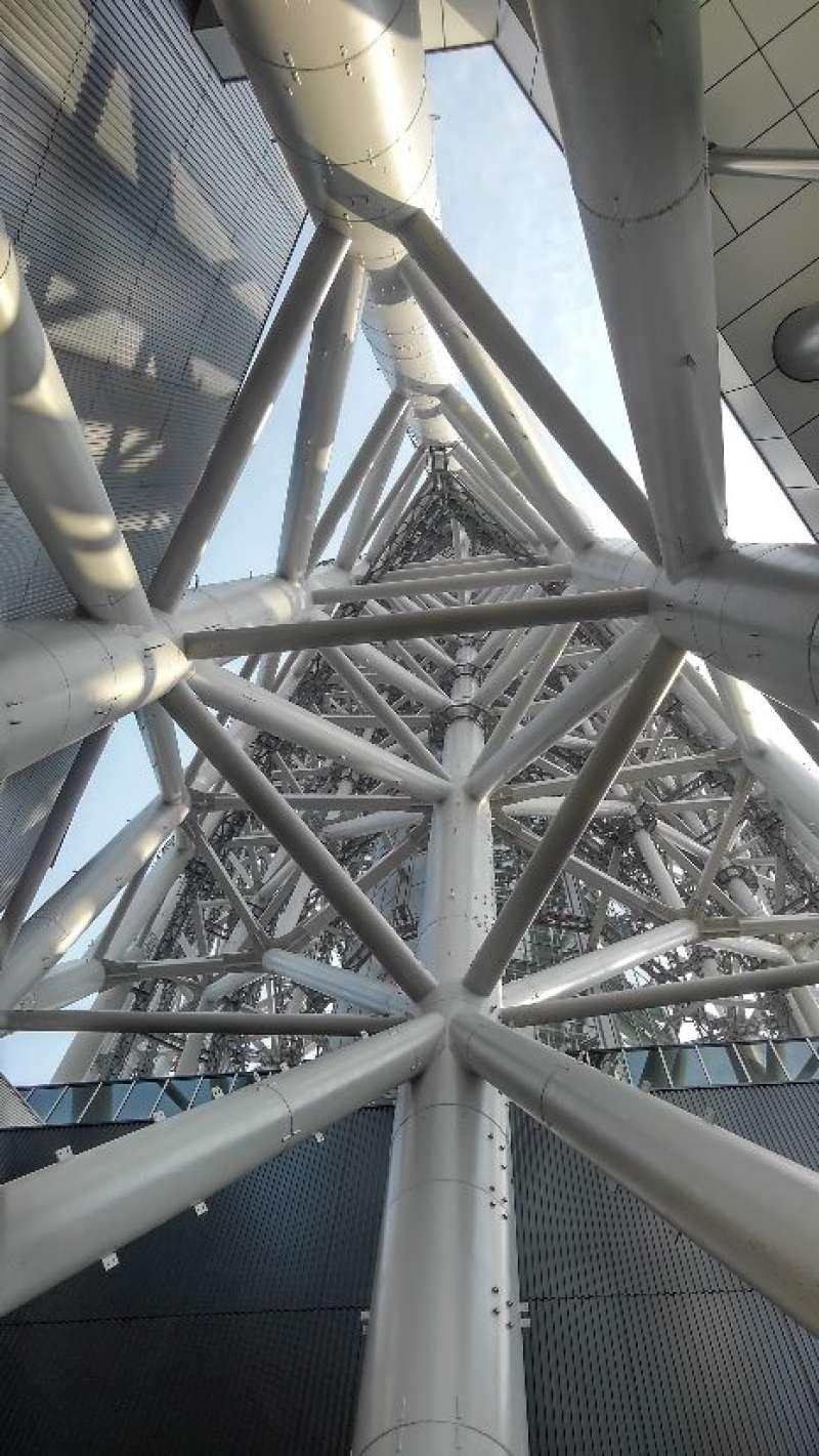 Inside Tokyo Skytree