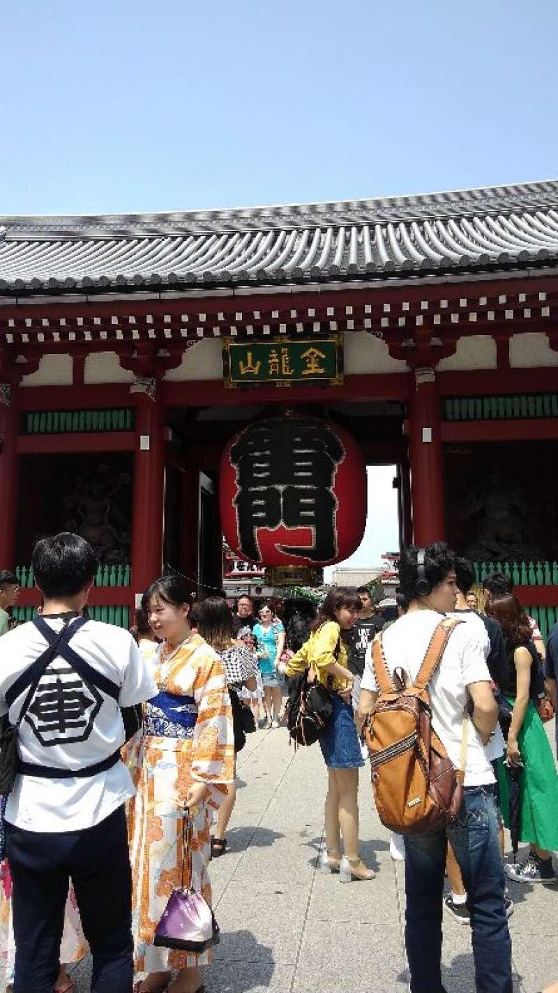 Thunder gate at Asakusa