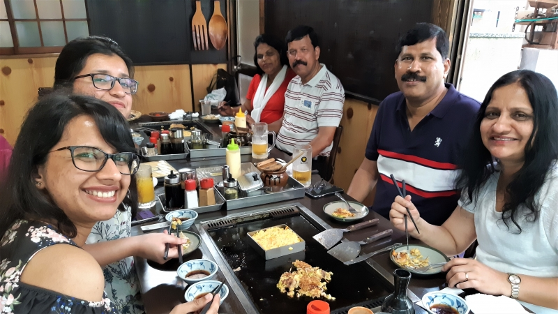 Kamakura satisfies our mind and stomach!