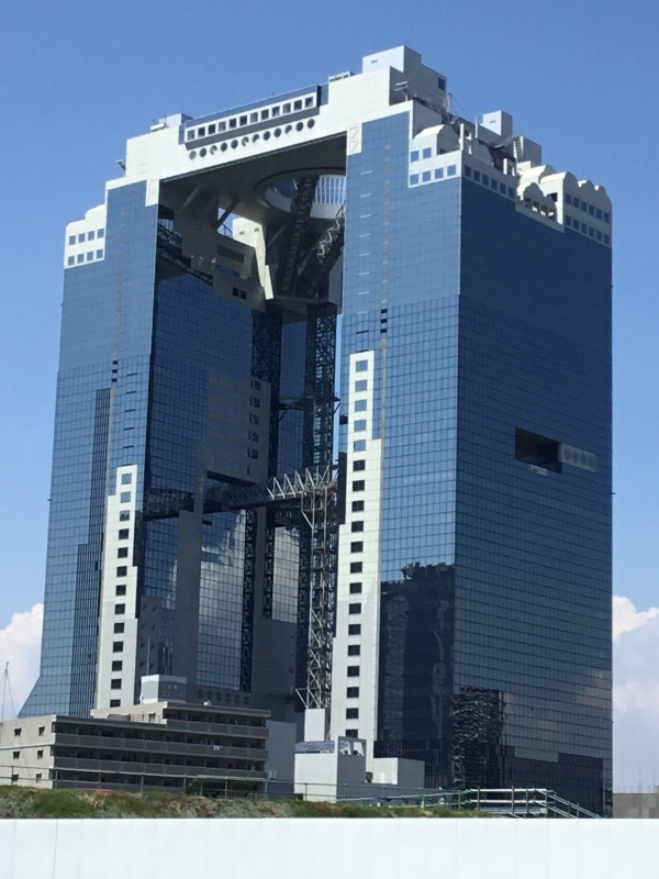 Umeda Sky Building: The height of 173 meter building consists of two towers that are connected with each other by the
