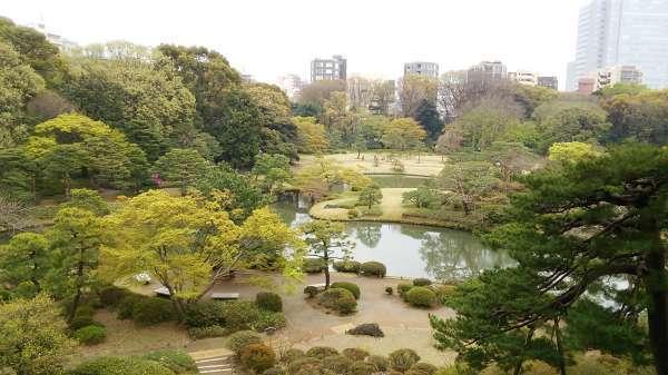 Rikugien garden - one of the most beautiful Japanese gardens in Tokyo.