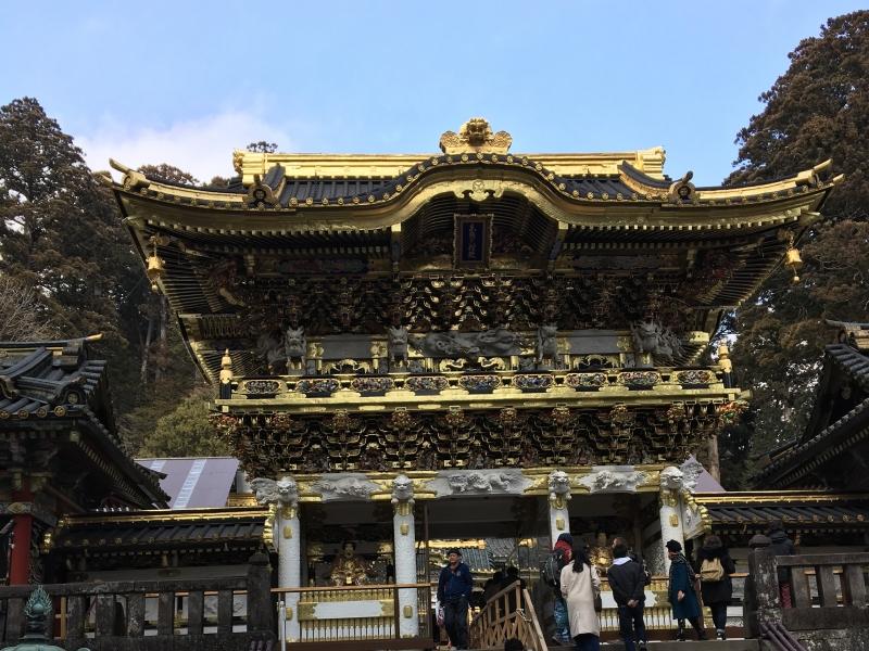 World heritage site Toshogu shrine is gorgeous.