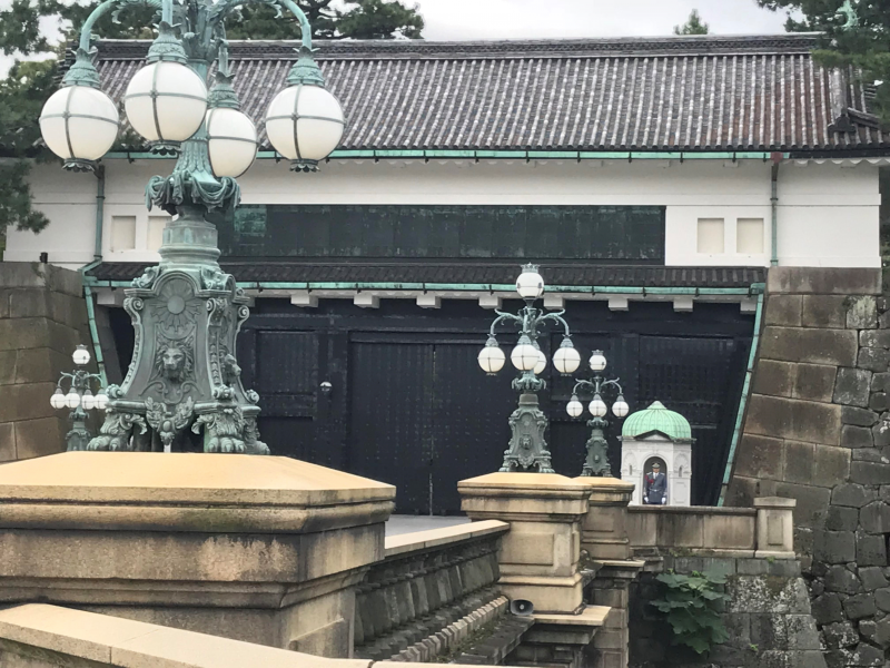 Tokyo Imperial Palace - the residence of Japan's Emperor and Empress