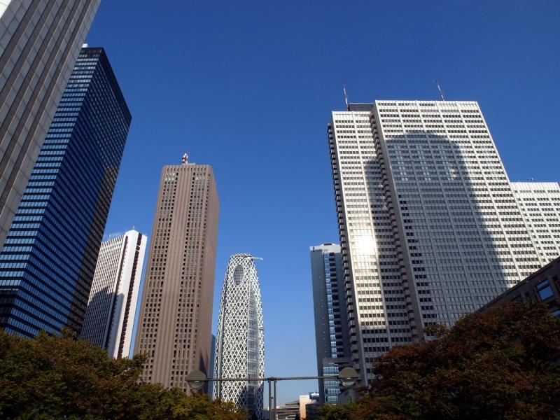 Skyscrapers in Shinjuku