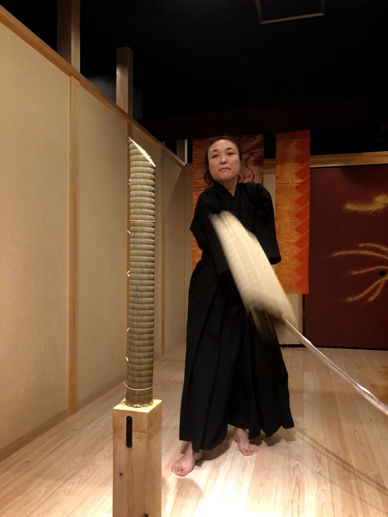 Be a LAST SAMURAI with real authentic Japanese sword