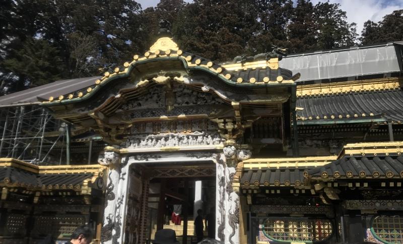 Yomeimon Gate of Toshogu Shrine