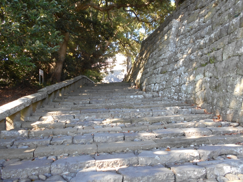 Kunozan with 1159 stone steps on the way to the top