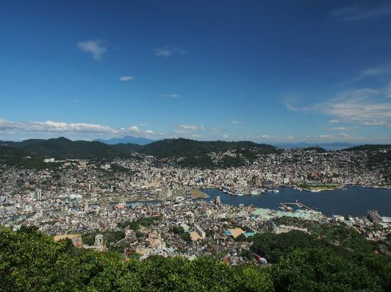 Panoramic view of NAGASAKI city