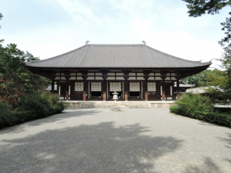 Toshodaiji temple built in 759 by the high priest Jianzhen