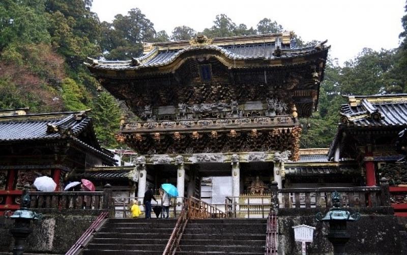 Toshogu shrine dedicated to Tokugawa Ieyasu who was the top greatest worriers in Japan