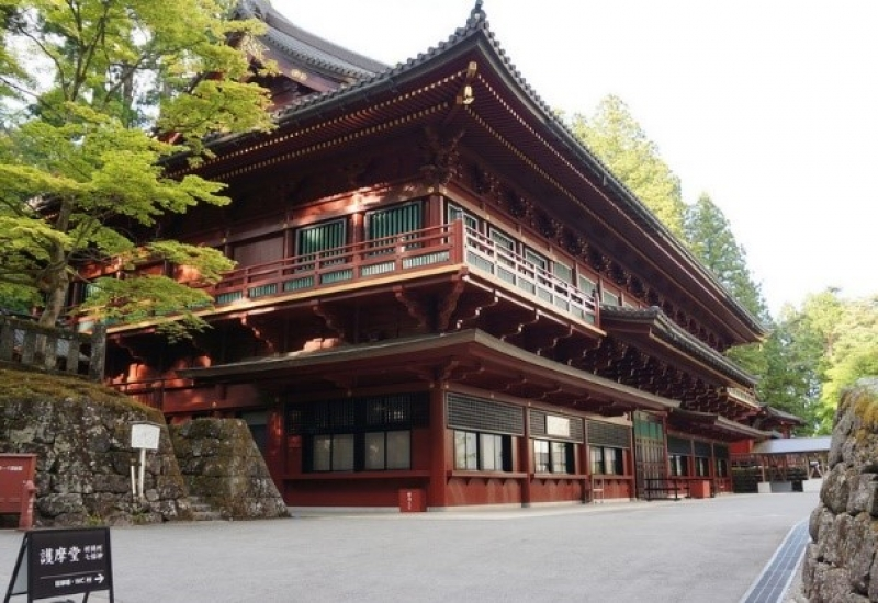 Rinnoji temple includes all buildings of Buddhism temples in Nikko mountains.