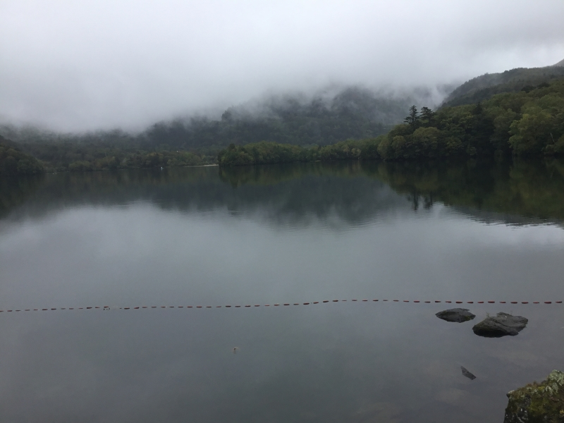 Yunoko lake will feel you mysterious and profound atmosphere.