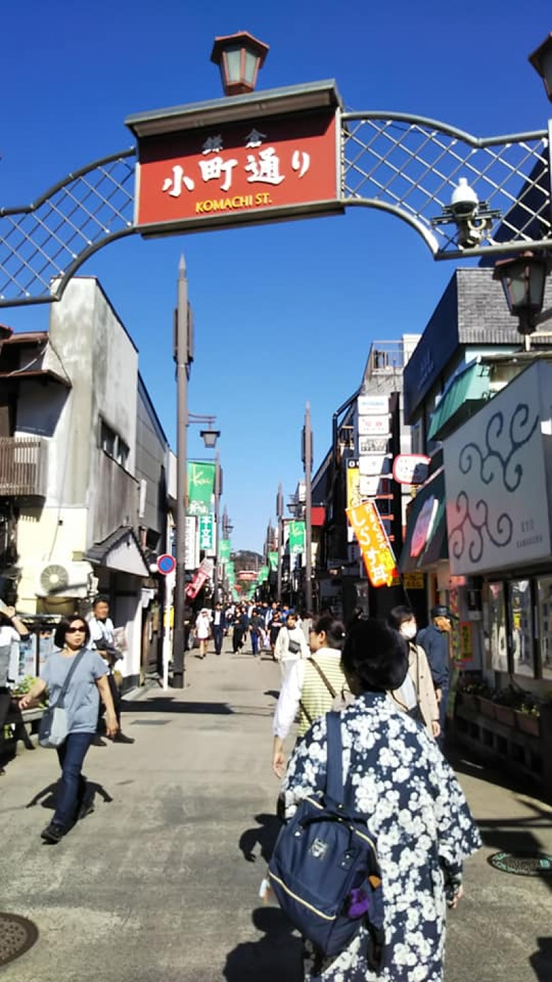 Komachi-dori Street is a popular shopping and Eating place for both Young and senior people. You can find lovely souvenirs at the shops.