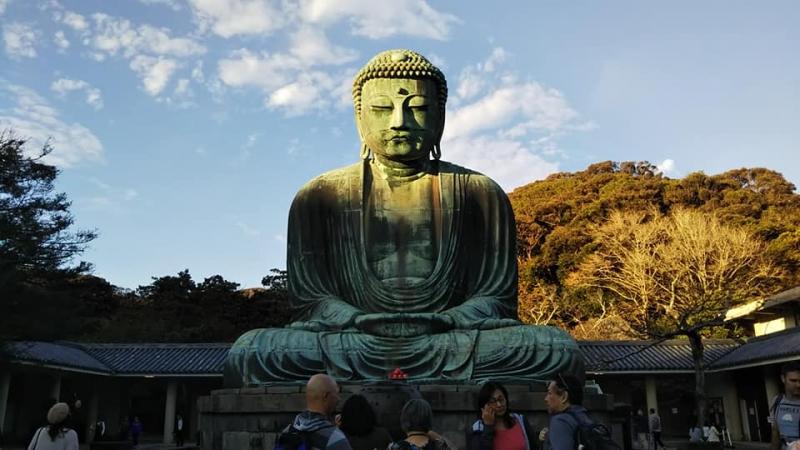 Great Buddha, a symbol of Kamakura