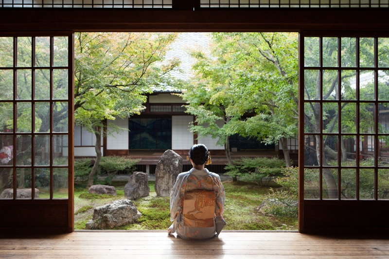 Cho-on-tei ( Sound of Tides ) Garden at Kennin-ji Temple