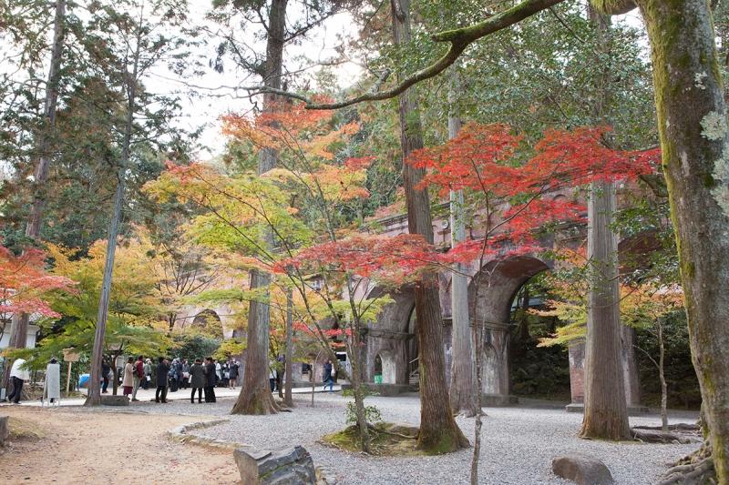 The high-rise water way at Nanzen-ji Temple