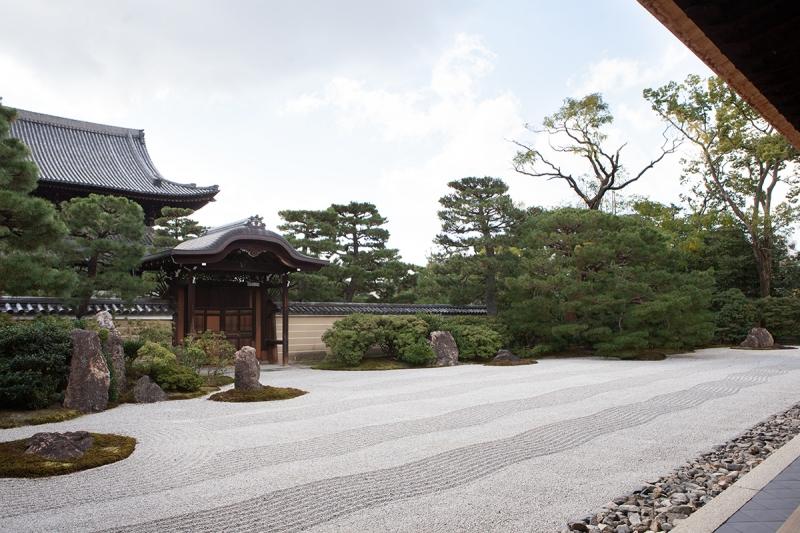 Dry Landscape Garden at Kennin-ji Temple