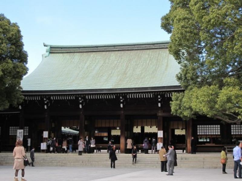 The Meiji Jingu Shrine
