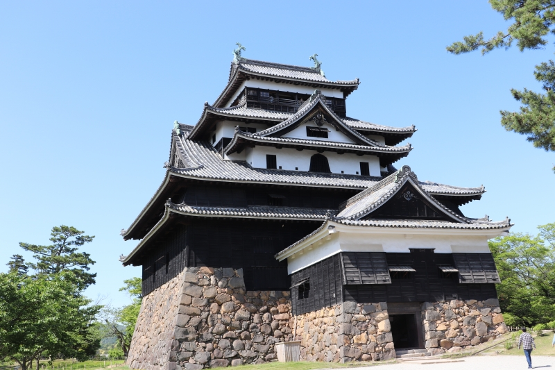Matsue Castle: It is one of the last remaining original feudal castles in Japan.