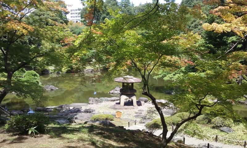 Los jardines de Kyu-Furukawa.