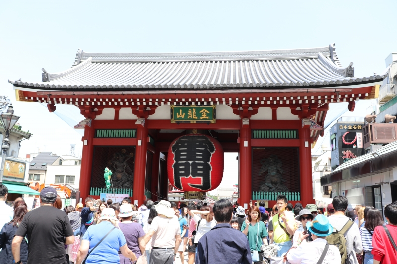 1 Kaminari-mon Gate (Thunder Gate) in Asakusa