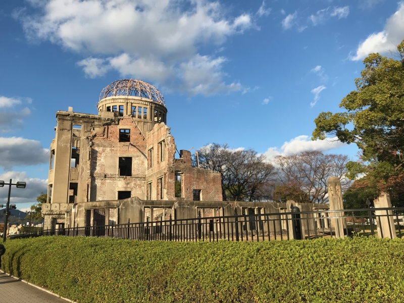 A Canny Day in Hiroshima