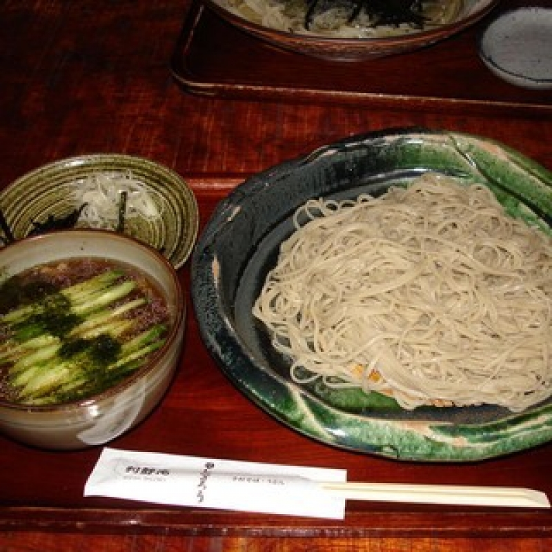 Soba and Rural soup