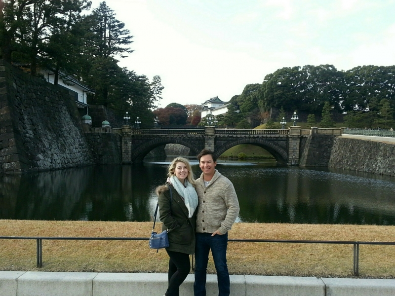 Bridge to the main gate of the Imperial Palace.