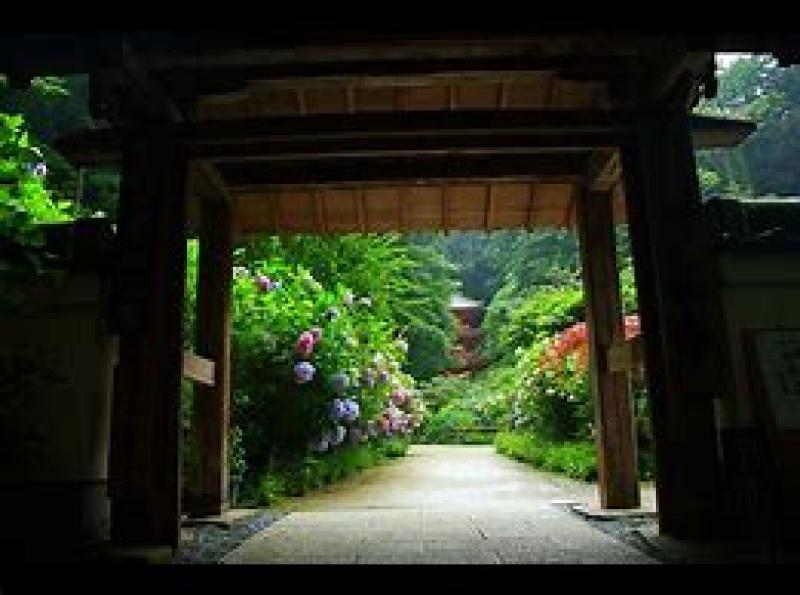 Gansen temple