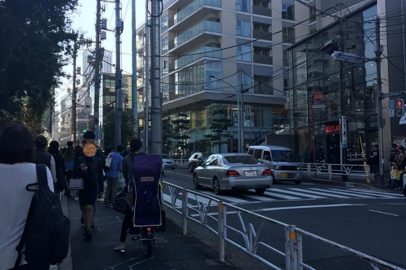 Setagaya is a quiet residential area.