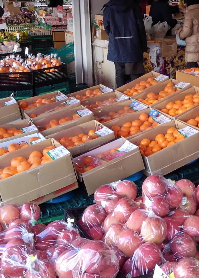Fruits in Asaichi Market