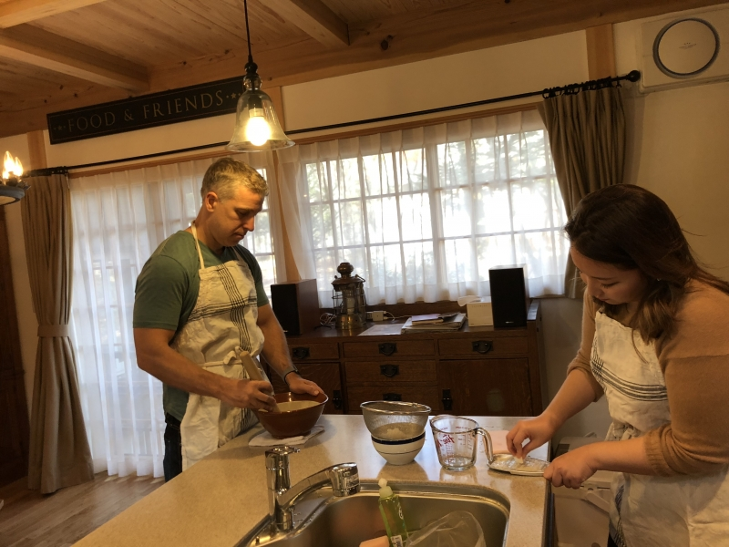 Cooking in the Trees,  Class in Private Country House in Karuizawa