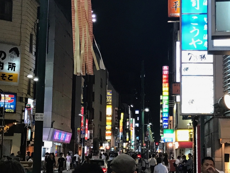 Kokubuncho, the biggest night entertainment district in Tohoku