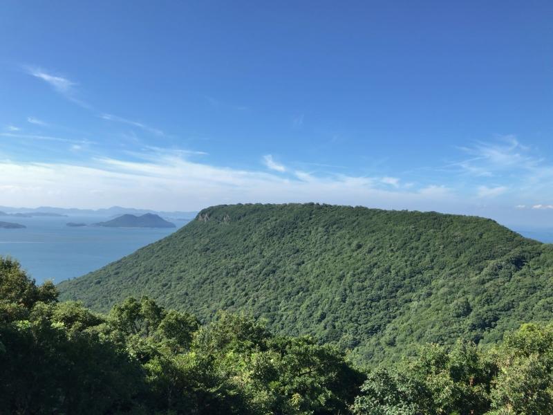 Yasima, a lava plateau having good viewpoints