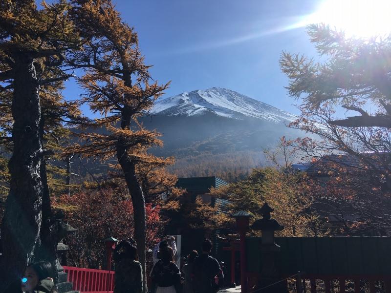 View of Mt. Fuji at 5th station