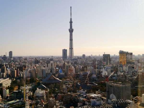 Asakusa temple and Tokyo sky tree districts