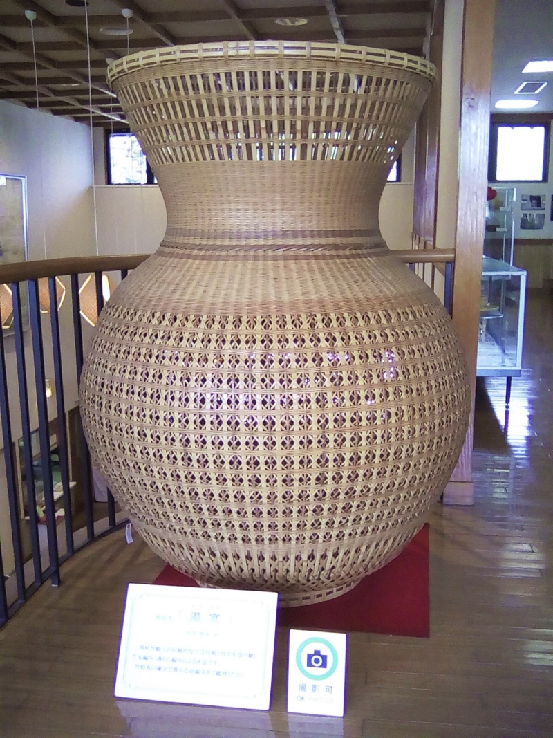 Beppu is also famous for bamboo crafts, amazing work.