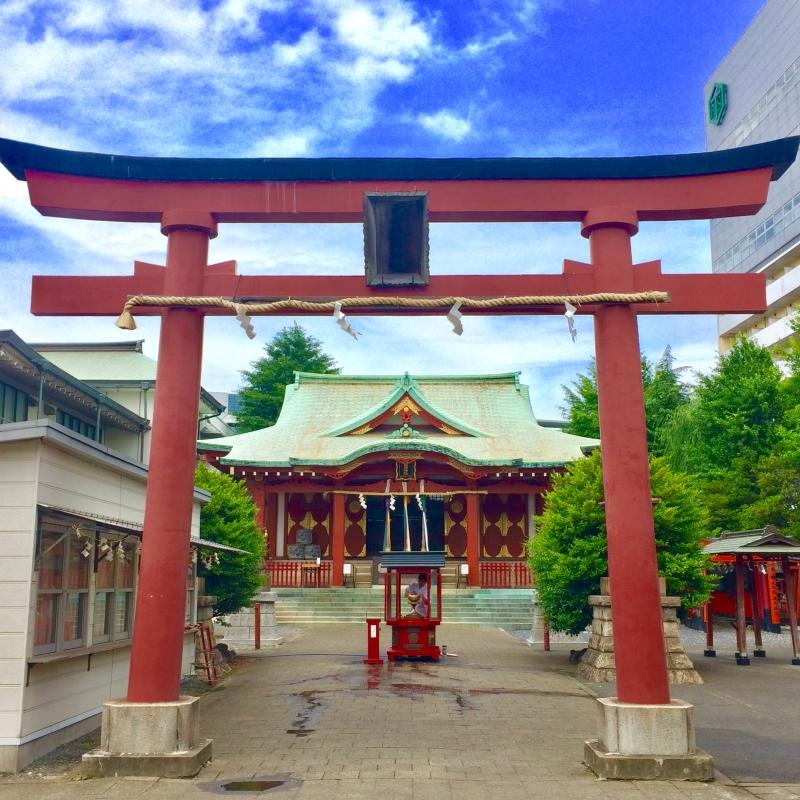 Anamori-Inari main gate.