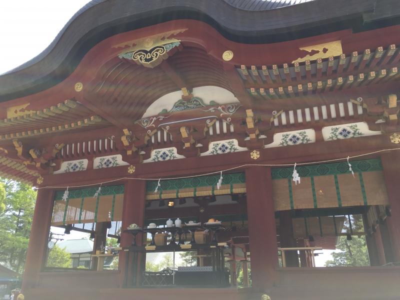 Tsurugaoka shrine