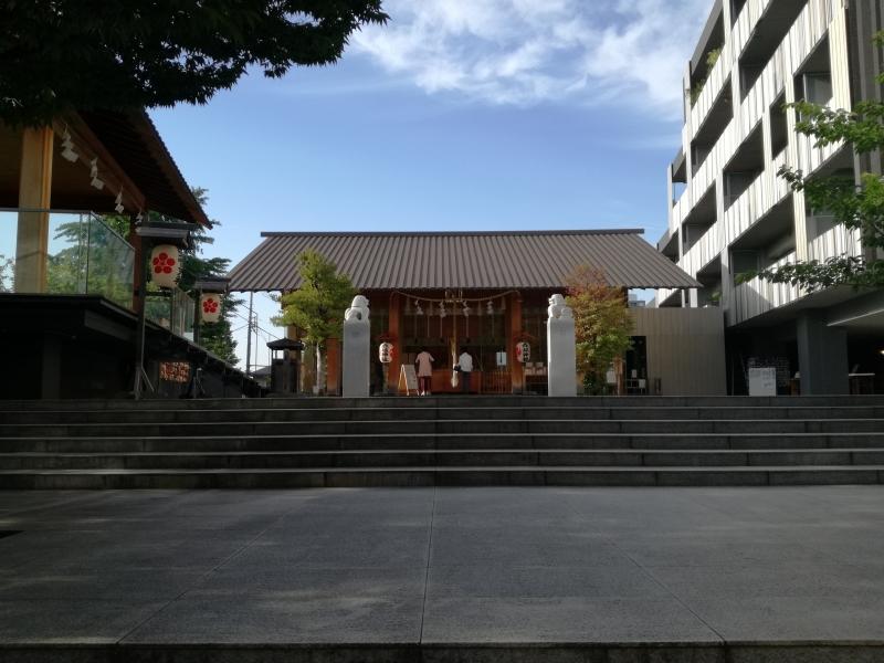 Akagi shirine in Kagurazaka