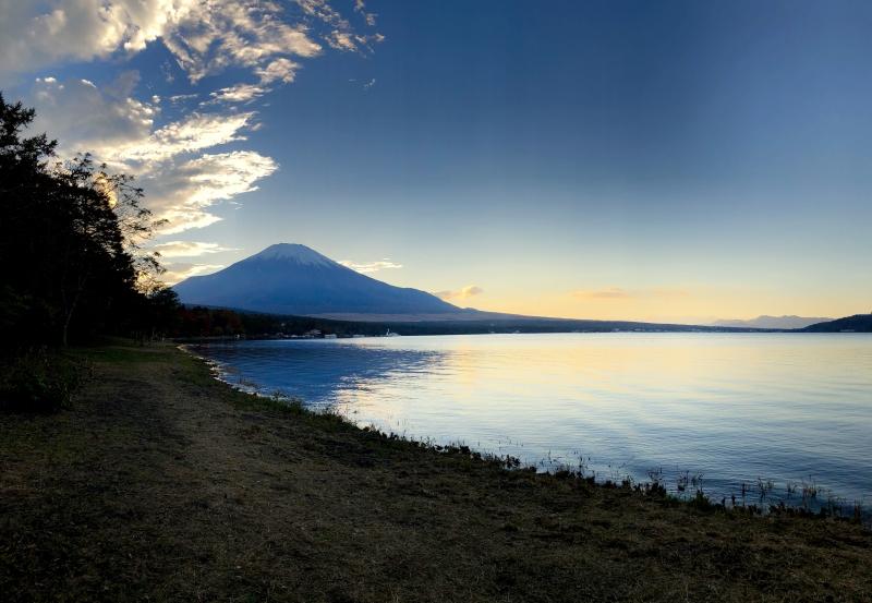 View from Lake Yamanakako