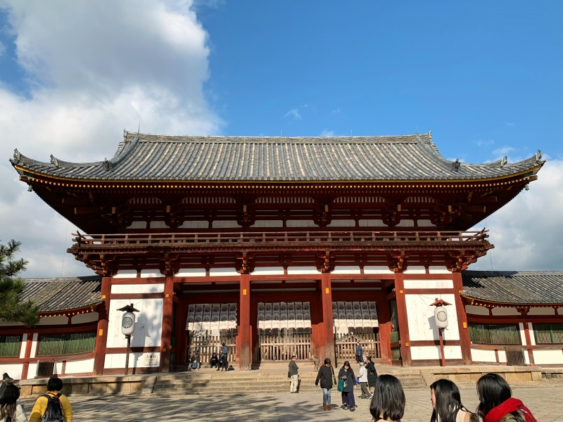 Nara, the old capital of the world heritage.