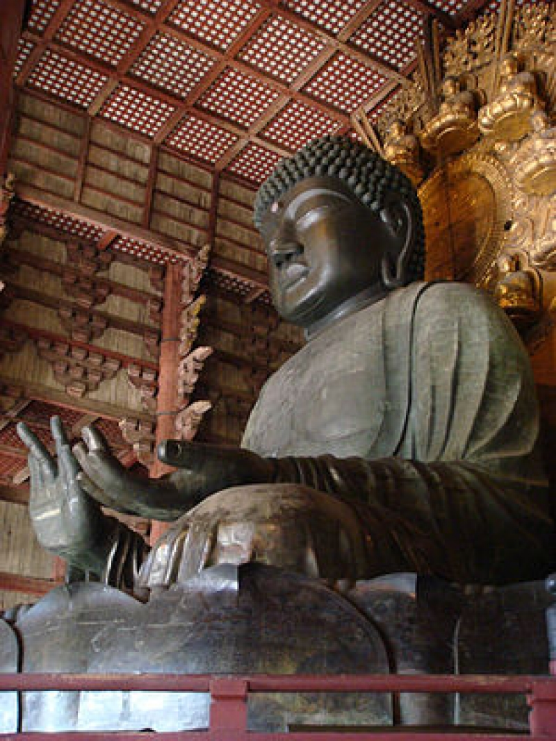Great statue of buddha 